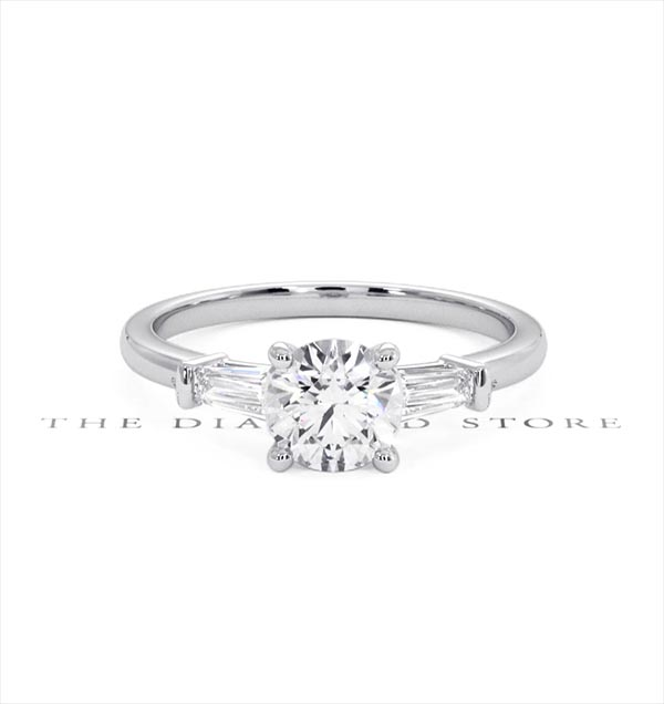 Isadora GIA Diamond Engagement Ring 18KW 0.90ct G/SI1 - 360 View