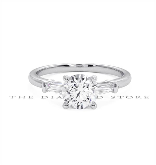 Isadora GIA Diamond Engagement Ring 18KW 1.10ct G/SI1 - 360 View