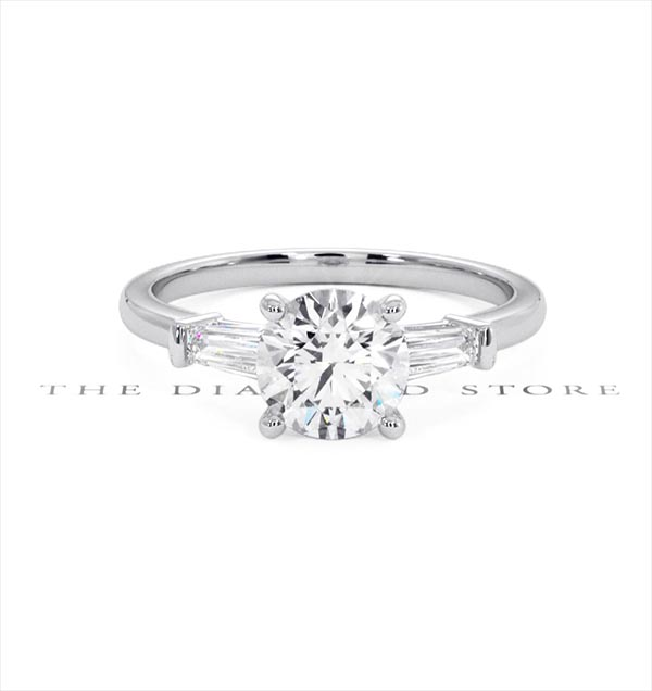 Isadora GIA Diamond Engagement Ring Platinum 1.25ct G/VS2 - 360 View
