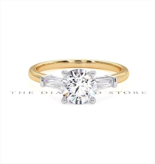 Isadora GIA Diamond Engagement Ring 18KY 1.25ct G/VS2 - 360 View